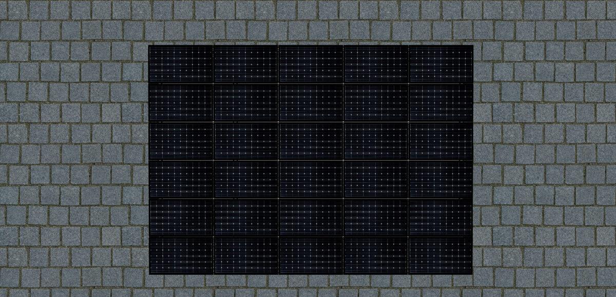 SOLIPORT 10.8 kW (58 m2) su sandėliuku